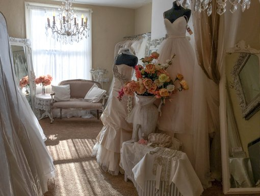 Find the perfect wedding dress at Molly Browns of York